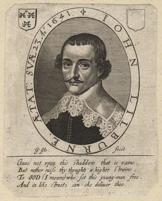 NPG D10576; John Lilburne by George Glover