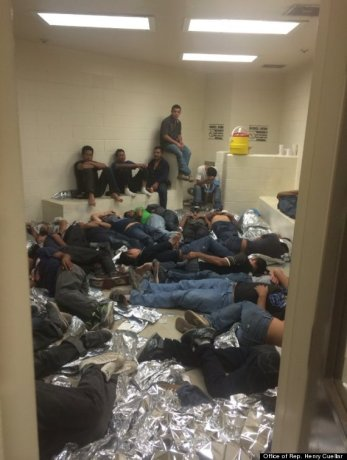 detention center Cuellar in Huff post
