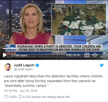 Laura Ingraham summer camps